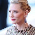 Coiffure avec tresses cheveux courts de Cate Blanchett
