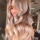 Le french disco sur cheveux blonds