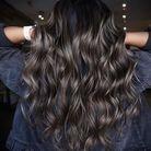 Ash brown sur cheveux longs