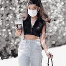 Le Ash brown d'Ariana Grande