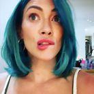 Hilary Duff et sa coloration bleue