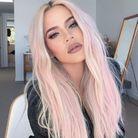 Cheveux lilas, cheveux long