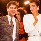 Cristina Cordula en 1986