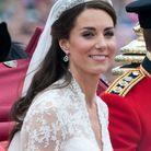 Kate Middleton et ses cheveux foncés pour son mariage
