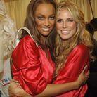Tyra Banks et Heidi Klum après