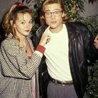 Brad Pitt et Shalane McCall en 1988