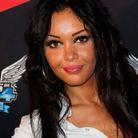 Nabilla et ses cheveux noirs en 2012
