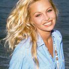 Pamela Anderson et sa chevelure wild en 1993