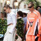 Hailey Bieber et son chouchou XXL