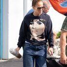 La coiffure simple à reproduire de Jennifer Lopez