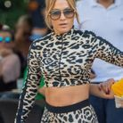 Le messy bun de Jennifer Lopez