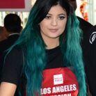Kylie Jenner et son dégradé vert