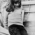 Diana enfant avec sa frange