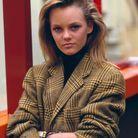 Vanessa Paradis et sa chevelure lisse des années 80