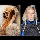Beaute diaporama look tendance cheveux coiffures tresse mohair