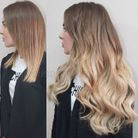 Extensions sublimées par un ombré hair