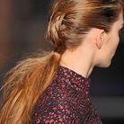 Beaute tendance coiffure cheveux queue cheval defile Cacharel