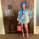 Les cheveux arc-en-ciel de Cardi B à Coachella 2019