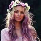 Ondulations violettes
