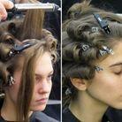 La réalisation de la coiffure