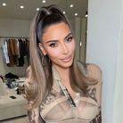 Brushing flip sur Kim Kardashian