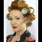 Beaute cheveux coiffure vintage retro Etape 2