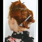 Beaute cheveux coiffure vintage retro Etape 3