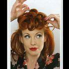 Beaute cheveux coiffure vintage retro Etape 5