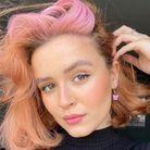 Skunk Hair roux et rose