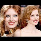 Beaute tendance cheveux maquillage defiles rouge rousse
