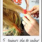couleur, pastel, cheveux, seapunk, mèches