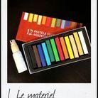 pastels couleur coloration vaporisateur