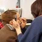 Backstage beauté Elie Saab - collection hiver 2010-2011 (2)