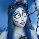 """Maquillage Halloween : Corps Bride des """"Noces funèbres"""" de Tim Burton"""