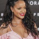 Le rouge à lèvres rouge rose de Rihanna