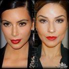 Le maquillage glamour de Kim Kardashian
