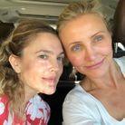 Drew Barrymore & Cameron Diaz se prennent en selfie sans make-up
