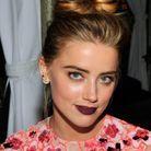La bouche lie-de-vin d'Amber Heard