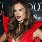 Le maquillage d'Alessandra Ambrosio pour Halloween