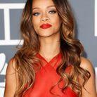 La bouche rouge mat de Rihanna