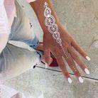 Le tatouage blanc façon dentelle