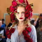 """Le beauty look arty inspiré par l'exposition """"Picasso 1932. Année érotique"""" au défilé Rodarte"""