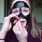 Le masque au charbon