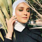 Eye liner neon vert