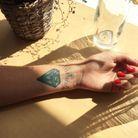 Le tatouage de Laura, journaliste beauté