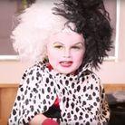 Maquillage Haloween pour enfant : Cruella