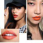 La bouche tangerine