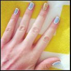 Ongles neo french manucure