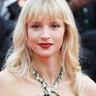 La bouche rouge d'Angèle au Festival de Cannes