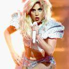 Lady Gaga et sa chevelure sauvage en 2017